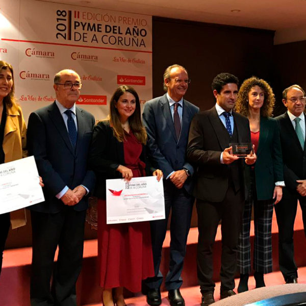 Acebron Group en los Premios Pyme del Año 2018 A Coruña